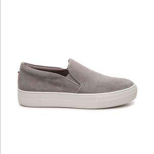 Steve Madden Gray Suede Sneakers
